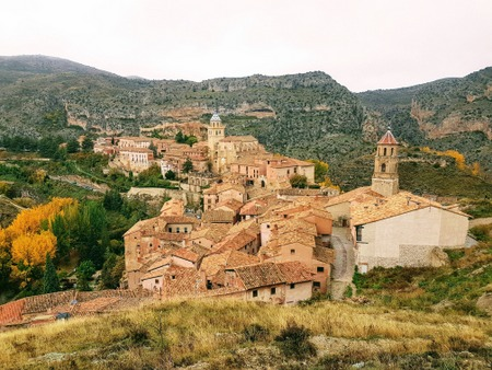 Utsikt over Albarracin