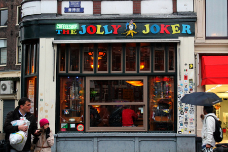 Amsterdam Coffeeshop - The Jolly Joker