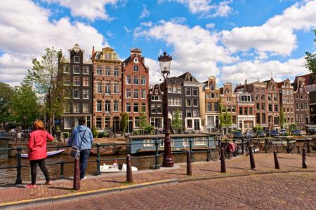 Amsterdam, kanaler og hus