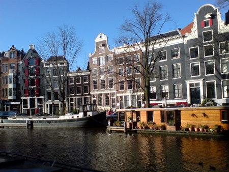 Amsterdam kanalbåter