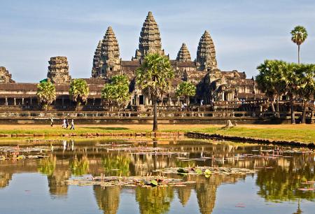 Angkor Wat sett utenfra