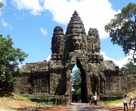 Byporten til Angkor Thom