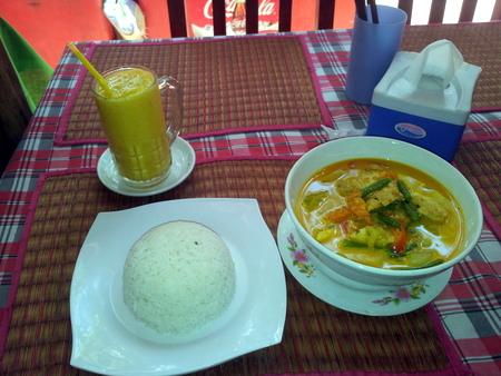 Kambodsjansk måltid