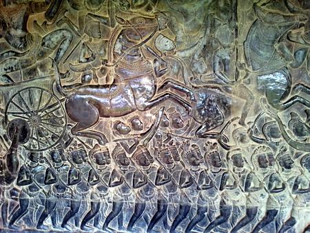 Utskjæringer på Angkor Wat