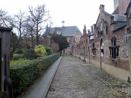 Antwerpens Begijnhof / Beguinage er en fredelig oase