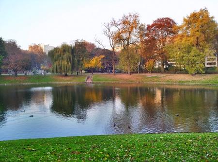 Den store byparken i Antwerpen