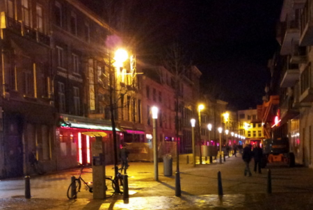Antwerpens Red Light District