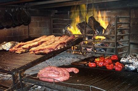 Grillmat i Argentina