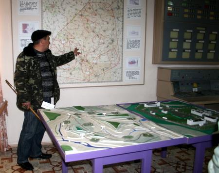 Omvisning på atomrakettmuseet