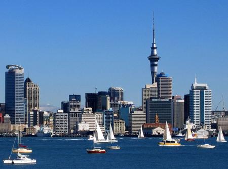 Sentrum av Auckland