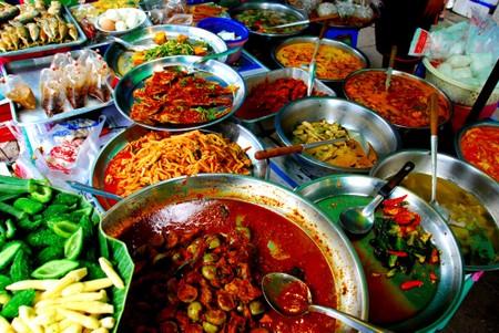 Gatemat i Bangkok