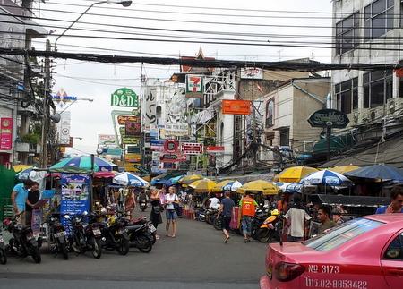 Khao San Road i Bangkok