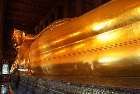 Wat Pho - liggende Buddha