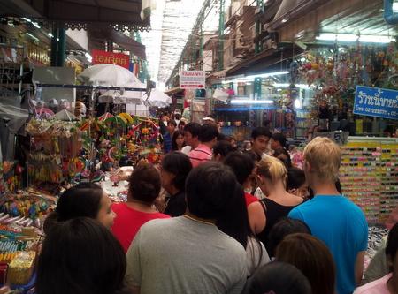 Sampeng Lane i Chinatown
