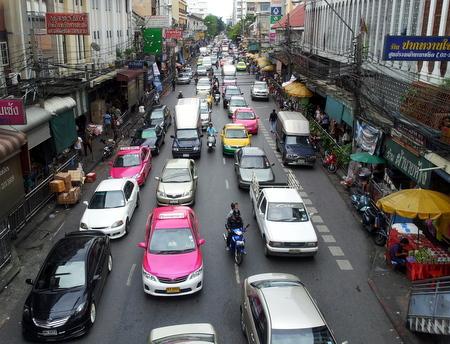 Trafikkork i Bangkok
