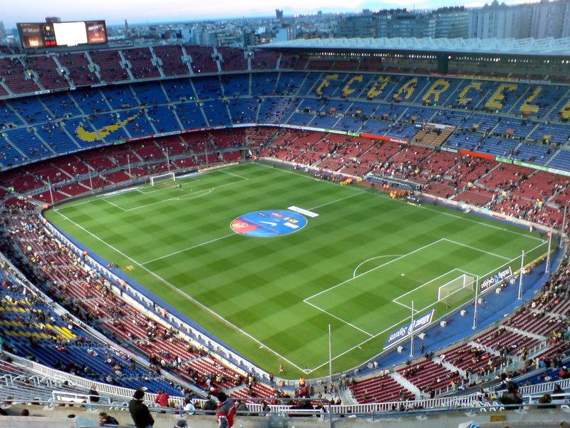Inne på Camp Nou