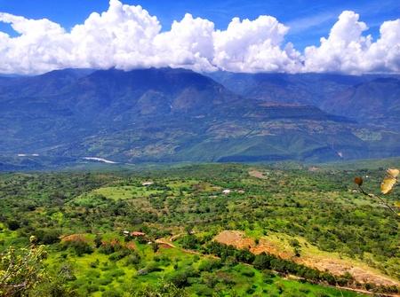 Utsikt fra Barichara