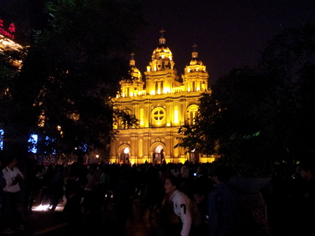 Katolsk kirke i Wangfujing