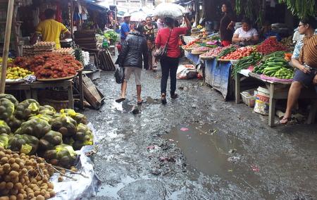 Marked i Berastagi