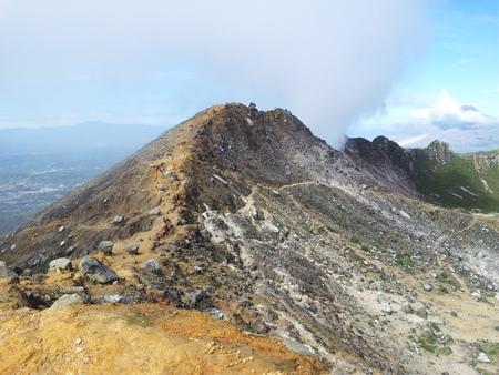 Utsikt fra Sibayak