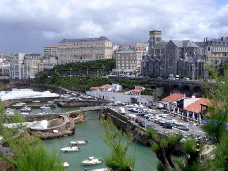 Havnen i Biarritz