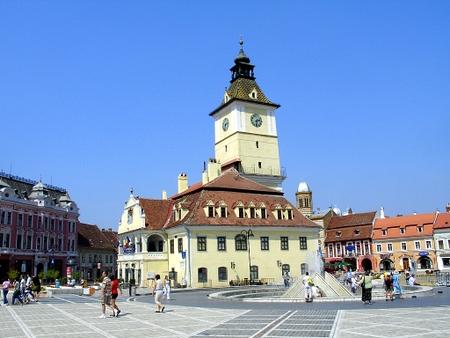 Det gamle rådhuset i Brasov