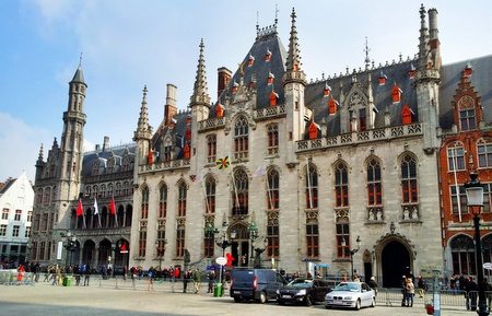 Markedsplassen i Brugge