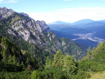 Utsikt mot Busteni