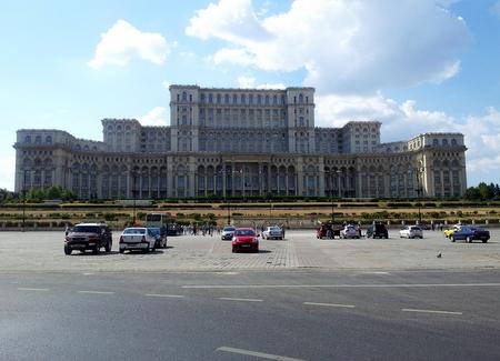 Parlamentspalasset i Bucuresti
