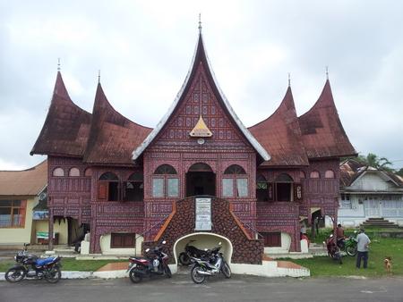 Tradisjonelt Minangkabau hus
