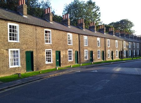 Hus i Cambridge