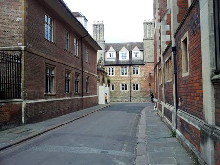 Gate mellom collegene