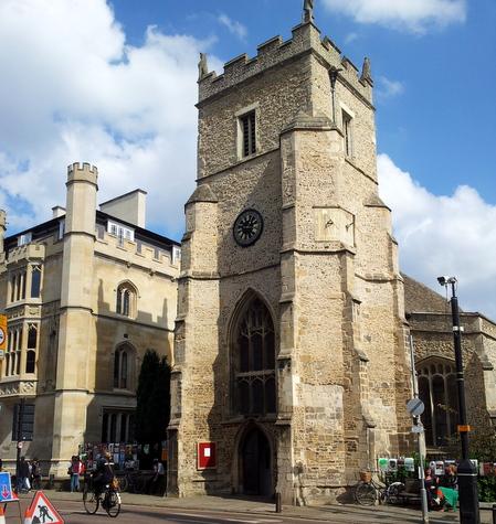 Sentrum av Cambridge