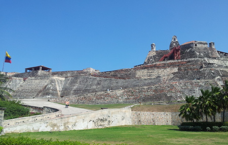 Festning Castelo de San Felipe i Cartagena