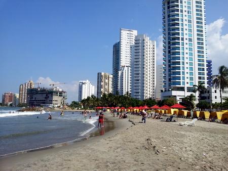 Strand i Cartagena