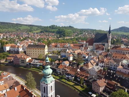 Utsikt fra slottstårnet