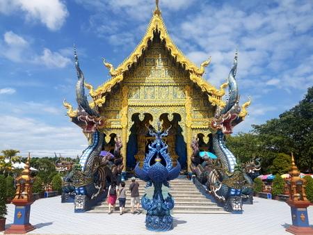Utenfor det blå templet