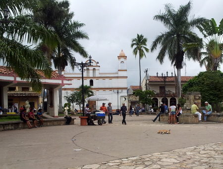 Parque Central i Copan