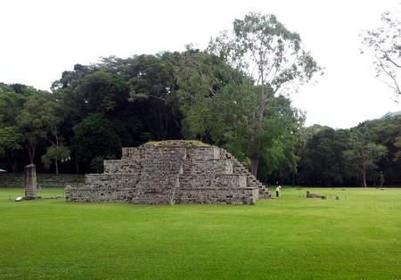 Pyramide i Copan