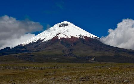 Utsikt mot vulkanen