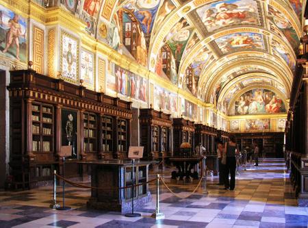 Biblioteket i El Escorial