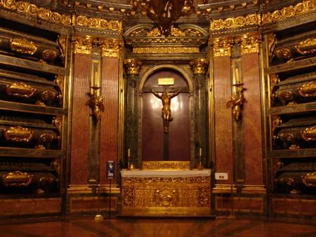 Det kongelige gravkammeret i El Escorial