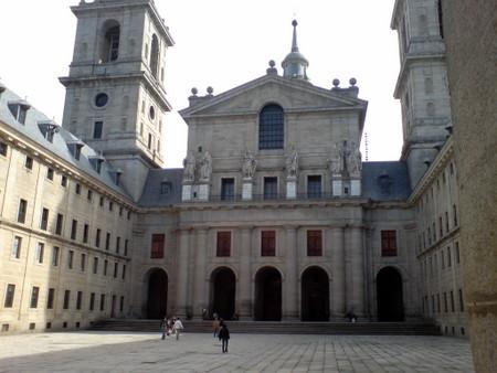 Utenfor Basilikaen i El Escorial