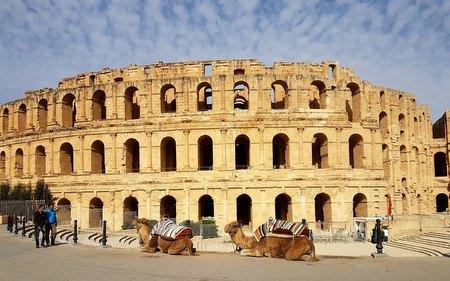 Amfiteateret i El Jem