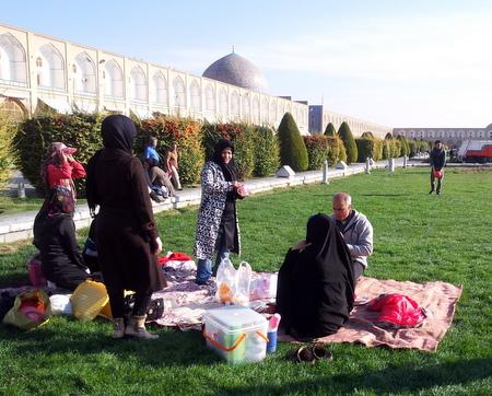 Familie på Imam-plassen