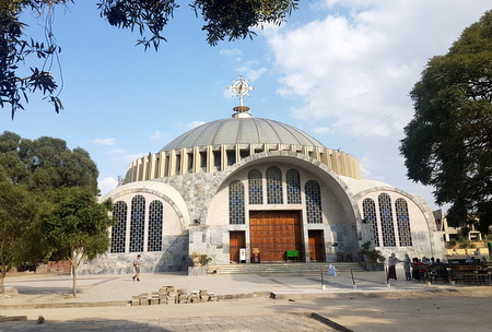 Katedral i Aksum