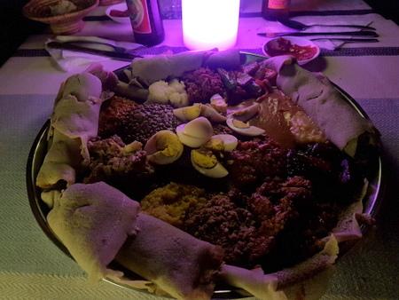 Tradisjonell etiopisk mat