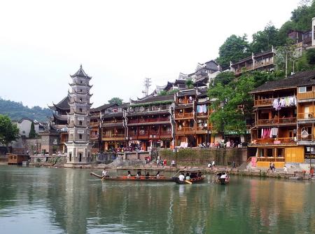 Tårn i Fenghuang