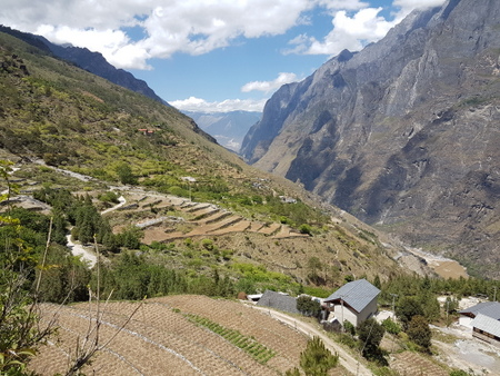 Tiger Leaping Gorge landsby