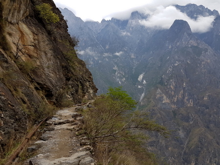 Tiger Leaping Gorge stien